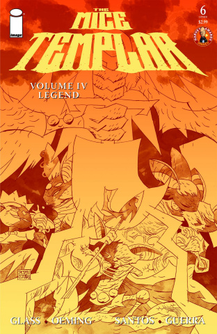 Mice Templar: The Legend #6 (Santos Cover)