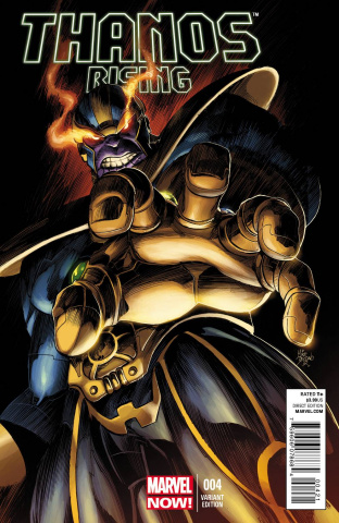 Thanos Rising #4 (Deodato Cover)