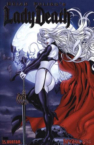 Lady Death: Infernal Sins (Platinum Foil Cover)