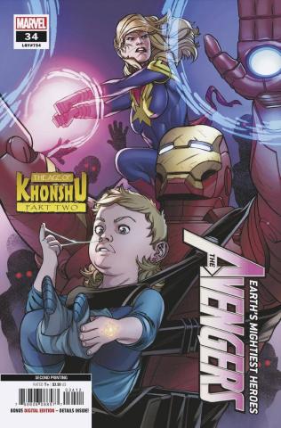 Avengers #34 (Garron 2nd Printing)