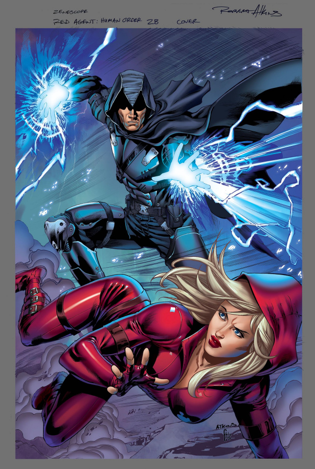 Grimm Fairy Tales: Red Agent - The Human Order #2 (Atkins Cover)