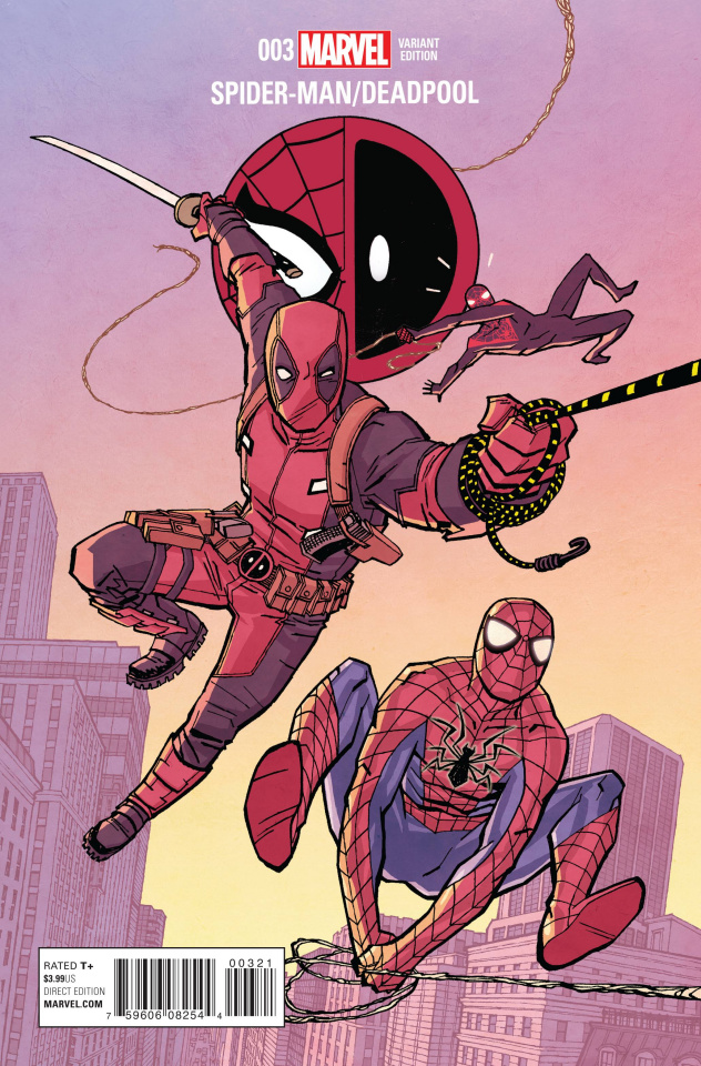 Spider-Man / Deadpool #3 (Chiang Cover)