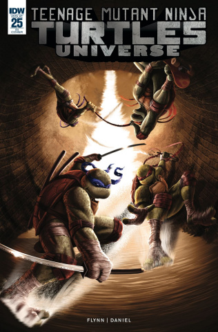 Teenage Mutant Ninja Turtles Universe #25 (10 Copy Velez Cover)