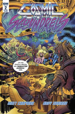 Cosmic Scoundrels #2