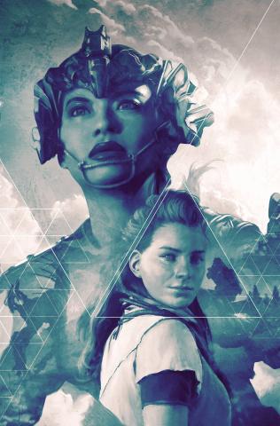 Horizon: Zero Dawn #4 (Artgerm Blue Virgin 25 Copy Cover)