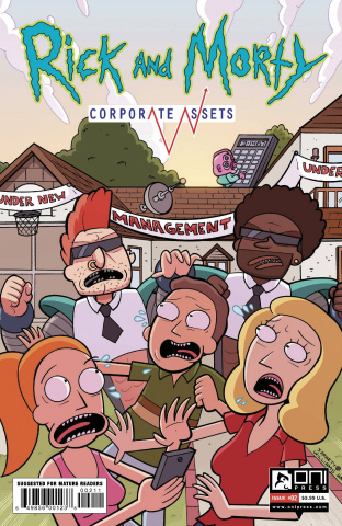 Rick and Morty: Corporate Assests #2 (Williams Cover)