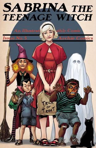 Sabrina, The Teenage Witch #5 (Erskine Cover)