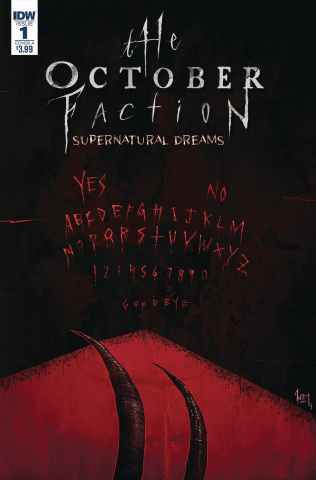The October Faction: Supernatural Dreams #1 (Worm Cover)