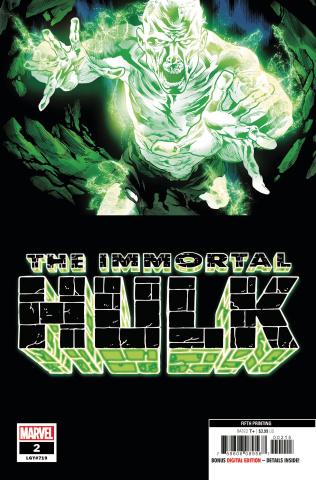 The Immortal Hulk #2 (Bennett 5th Printing)