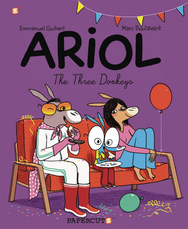 Ariol Vol. 8: The Three Donkeys