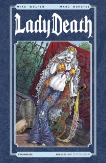 Lady Death #25 (Hippie Cover)