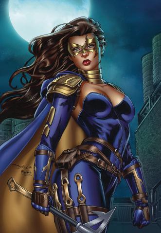 Belle: Oath of Thorns #1 (Santacruz Cover)