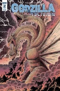 Godzilla: Oblivion #2 (Subscription Cover)