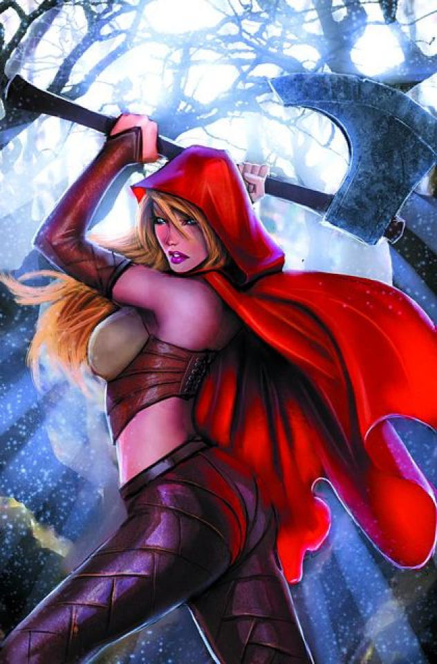 Grimm Fairy Tales: Myths & Legends #16 (Garza Cover)