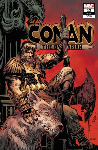 Conan the Barbarian #12 (Garney Cover)