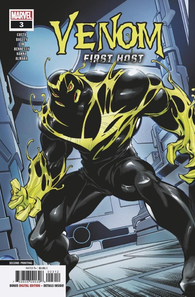 Venom: First Host #3 (Bagley 2nd Printing)