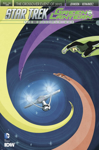 Star Trek / Green Lantern #1 (Charretier Cover)