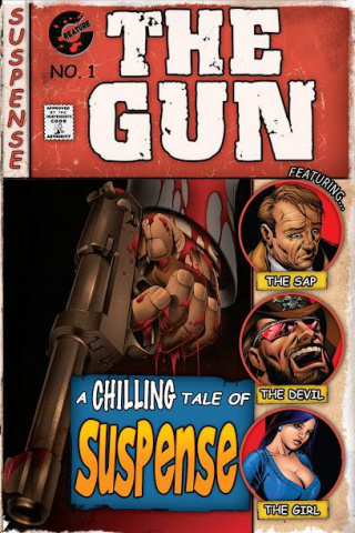 The Gun #1 (5 Copy Cover)