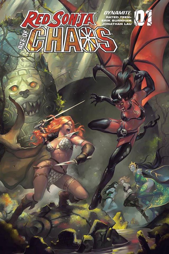 Red Sonja: Age of Chaos #1 (Hetrick Bonus Cover)