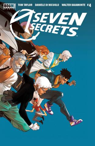 Seven Secrets #4 (2nd Printing)