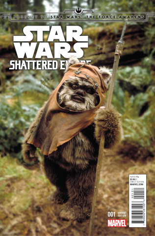 Journey to Star Wars: The Force Awakens - Shattered Empire #1 (Movie Cover)