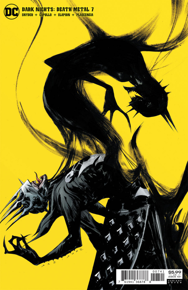 Dark Nights: Death Metal #7 (Jae Lee Batman Who Laughs Cover)