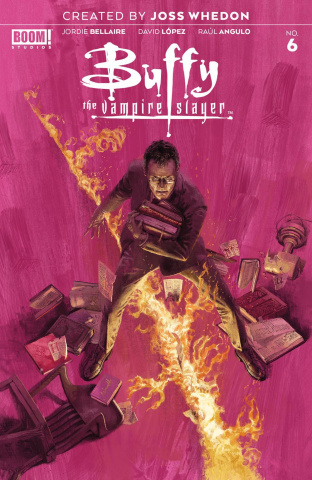 Buffy the Vampire Slayer #6 (Aspinall Cover)