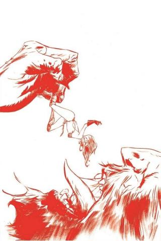 Red Sonja #22 (35 Copy Lee Tint Virgin Cover)