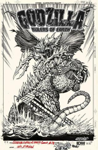 Godzilla: Rulers of Earth #18 (10 Copy Cover)
