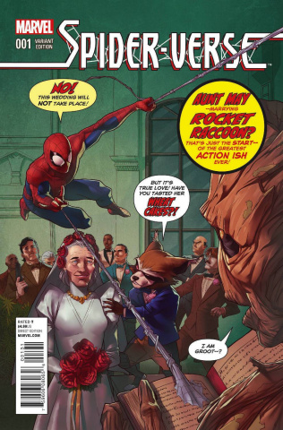 Spider-Verse #1 (Rocket Raccoon & Groot Cover)