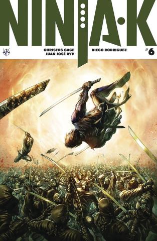 Ninja-K #6 (Quah Cover)