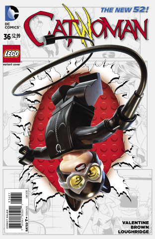 Catwoman #36 (Lego Cover)