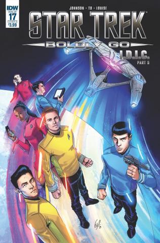 Star Trek: Boldly Go #17 (Ossio Cover)