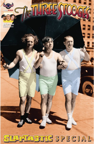 The Three Stooges Slaptastic Special #1 (Special Color Photo Cover)