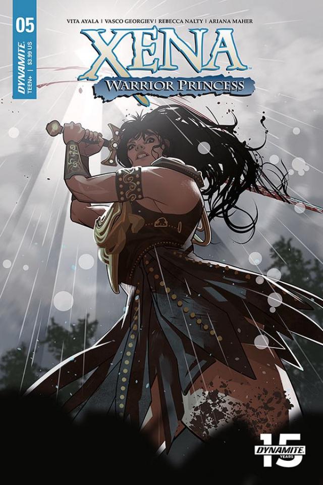 Xena: Warrior Princess #5 (Stott Cover)