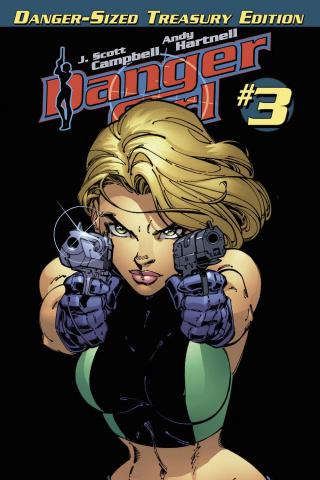 Danger Girl #3 (Danger Sized Treasury Edition)