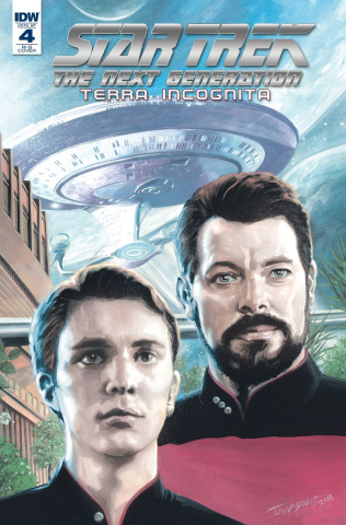 Star Trek: The Next Generation - Terra Incognita #4 (25 Copy Woodward Cover)
