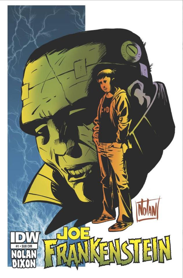 Joe Frankenstein #1 (Subscription Cover)