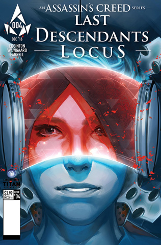 Assassin's Creed: Locus #4 (Glass Cover)