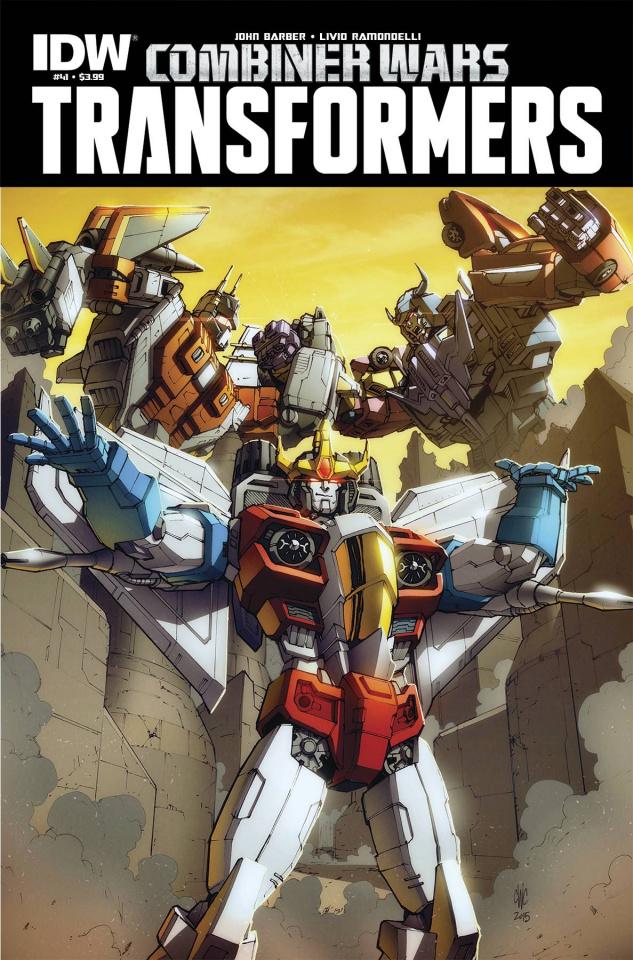 The Transformers #41: Combiner Wars
