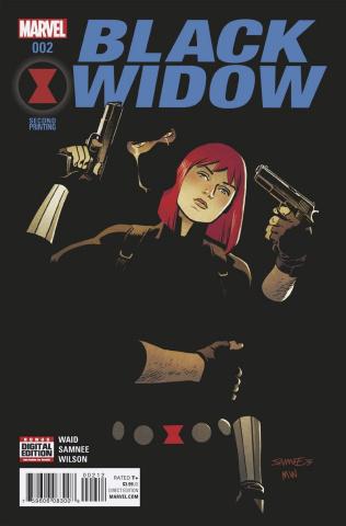 Black Widow #2 (Samnee 2nd Printing)