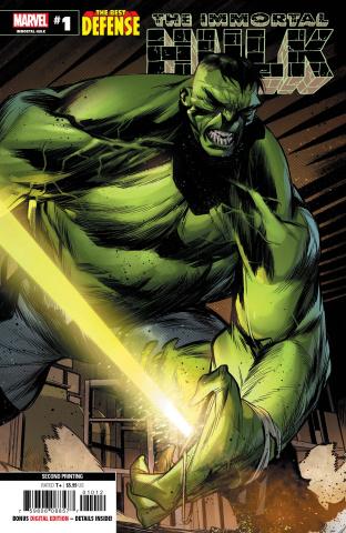 The Defenders: The Immortal Hulk #1 (Di Meo 2nd Printing)