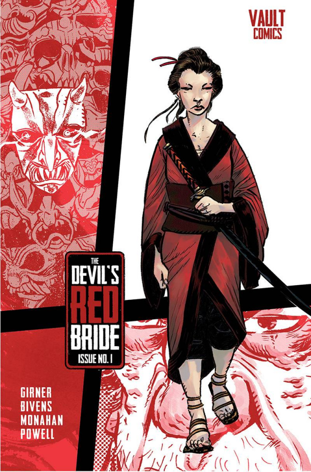 The Devil's Red Bride #1 (Bivens Cover)