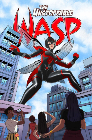 The Unstoppable Wasp: Unlimited Vol. 2 Girl vs. A.I.M.