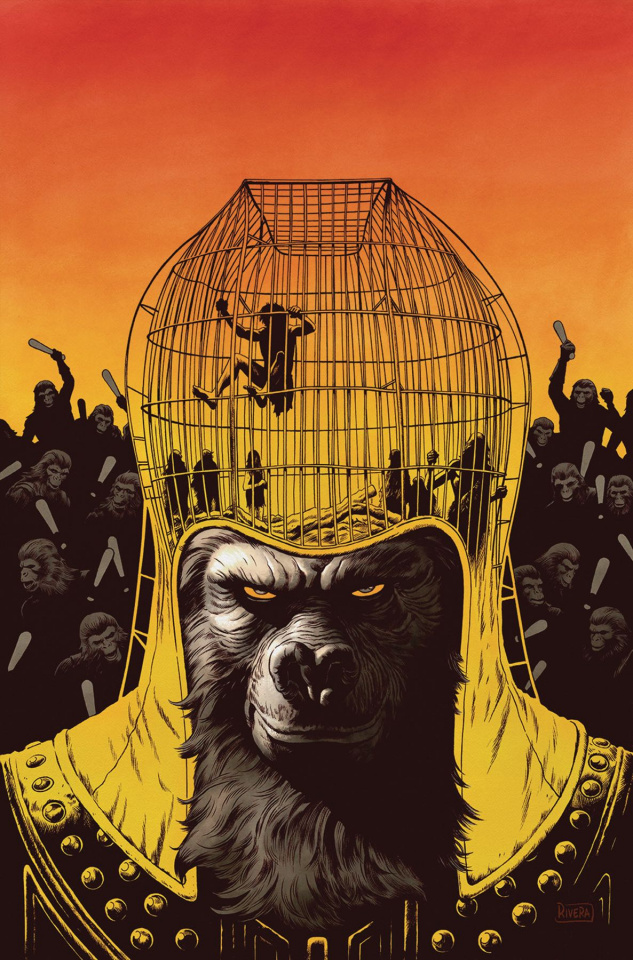 The Planet of the Apes: Ursus #1 (Main & Mix Cover)