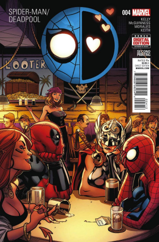Spider-Man / Deadpool #4 (McGuinness 2nd Printing)