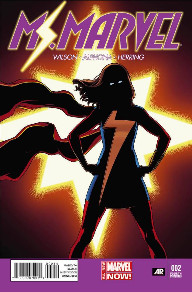 Ms. Marvel #2 (4th Printing)