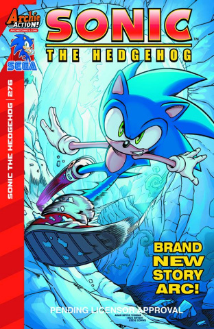 Sonic the Hedgehog #276 (Thomas Cover)