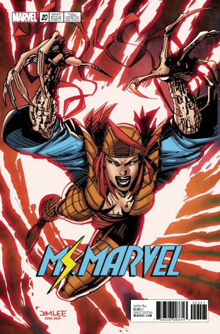 Ms. Marvel #20 (X-Men Card Cover)