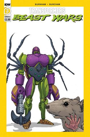 Transformers: Beast Wars #3 (Dan Schoening Cover)